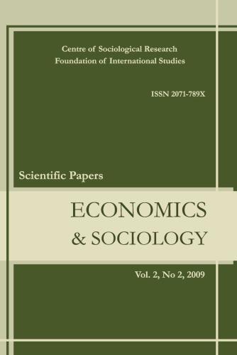 Editorial - Economics and Sociology